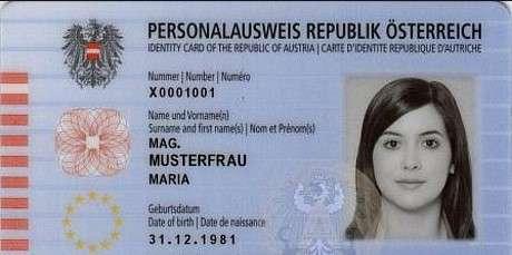 Kaufen Österreich Ausweis